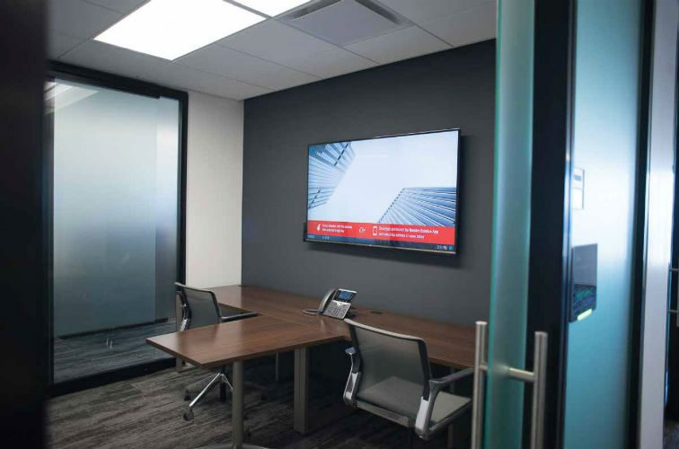 AV-as-a-Service for 110 Conference Rooms, slide 0