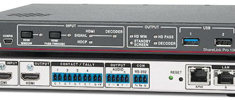 Extron Introduces ShareLink Pro 1000 - My TechDecisions
