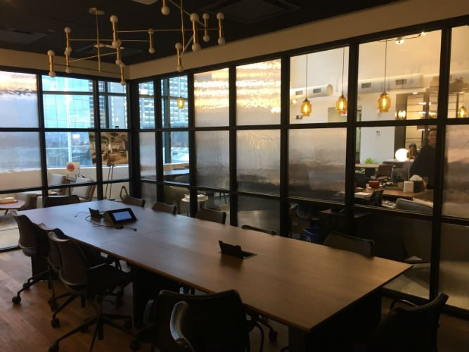 What is a Coworking Space? TD Visits Industrious Boston, slide 3