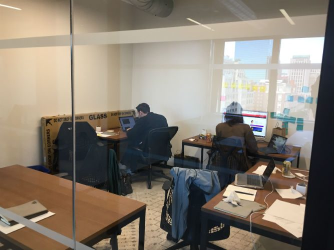 What is a Coworking Space? TD Visits Industrious Boston, slide 0