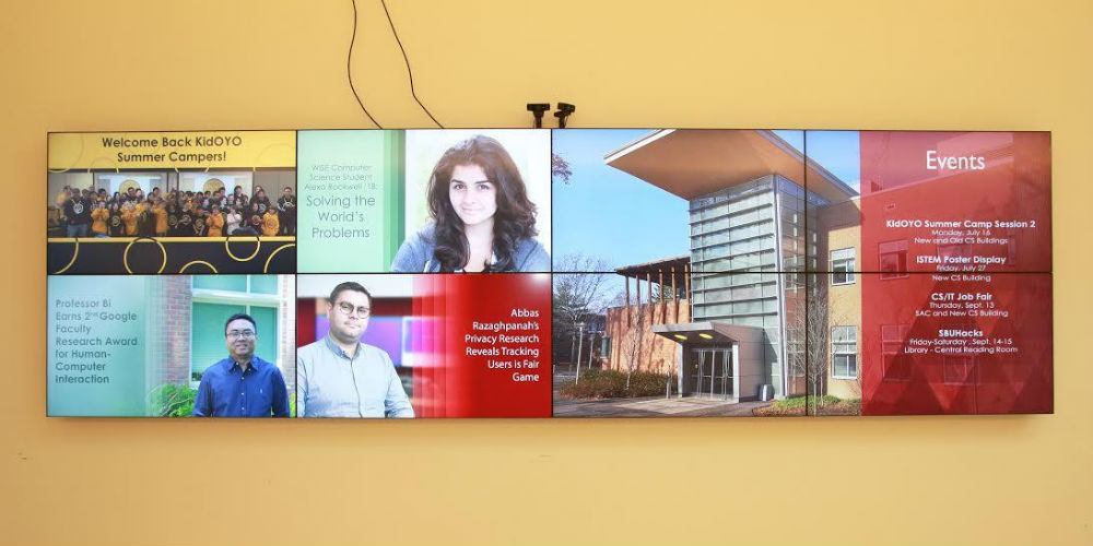 Stony Brook University Video Wall and Conference Room, slide 3