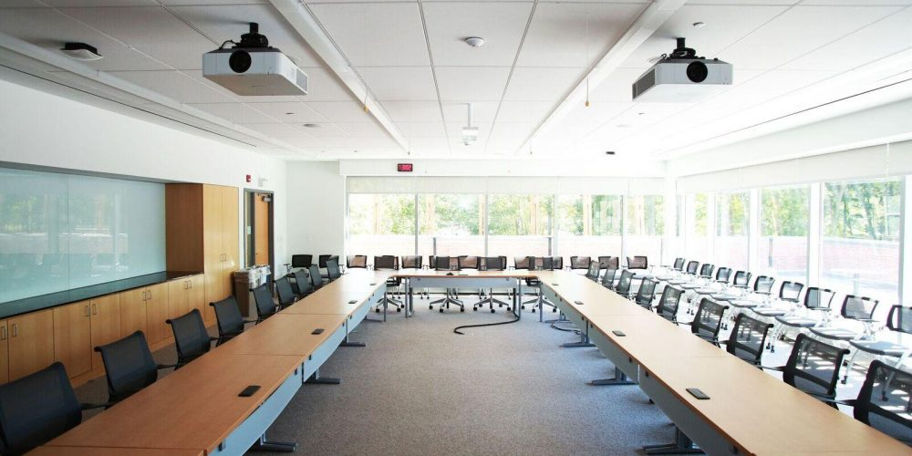 Stony Brook University Video Wall and Conference Room, slide 1