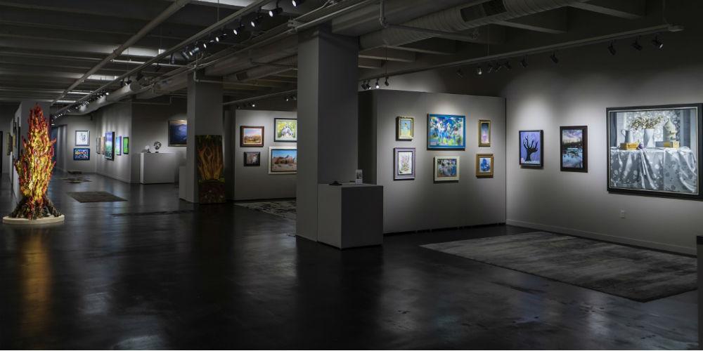 The MAW Art Gallery AV System, slide 0