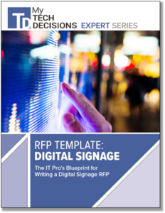RFP Template: Digital Signage - My TechDecisions