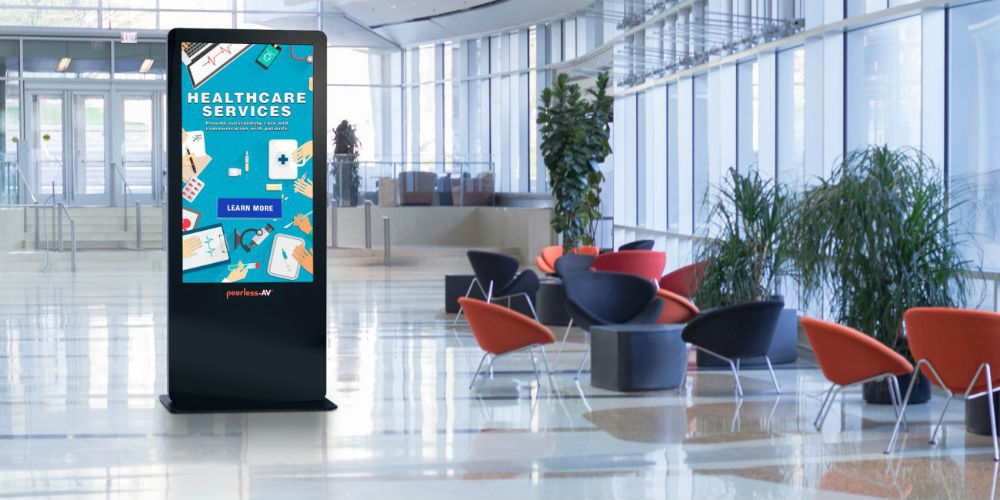 New All-in-One Kiosk from Peerless-AV Has BrightSign Power - My