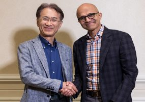 Sony Microsoft partnership, AI solutions
