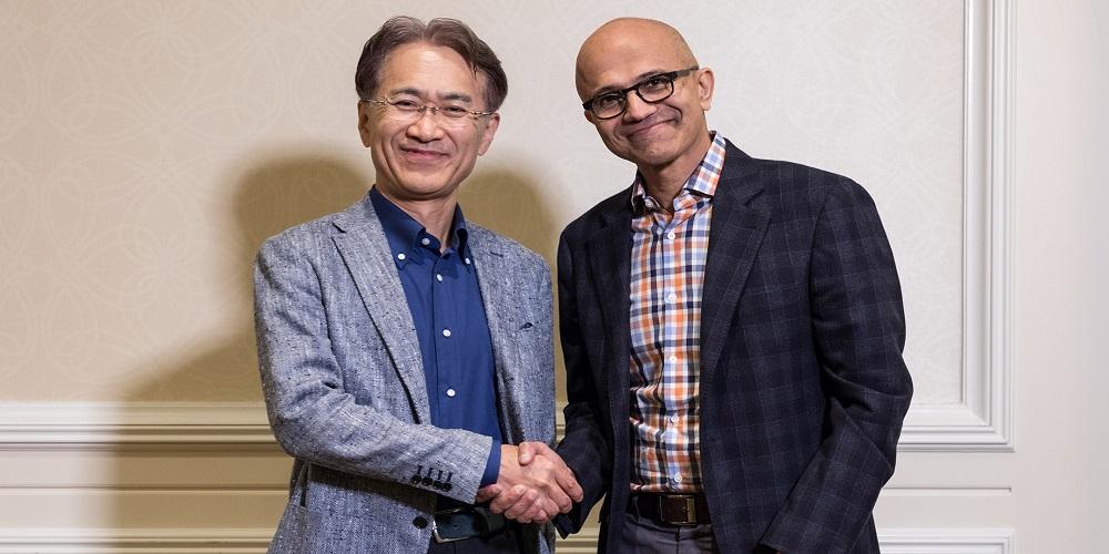 Sony Microsoft partnership, AI solutions