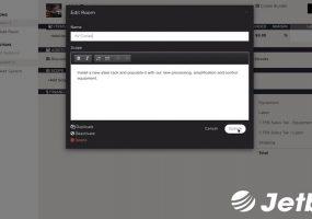 AV proposal, Jetbuilt, UNLV