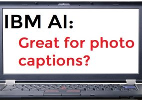 IBM AI, photo caption AI