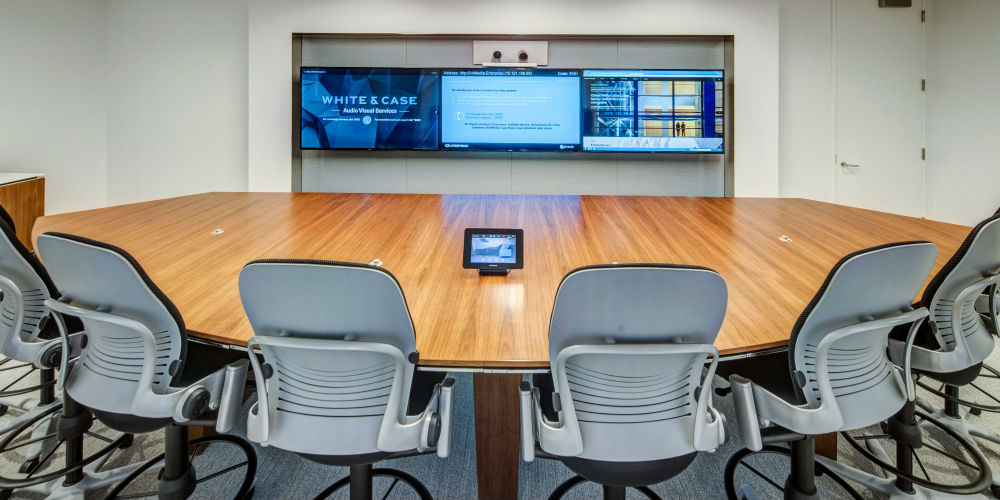 White & Case Meeting Room, slide 9