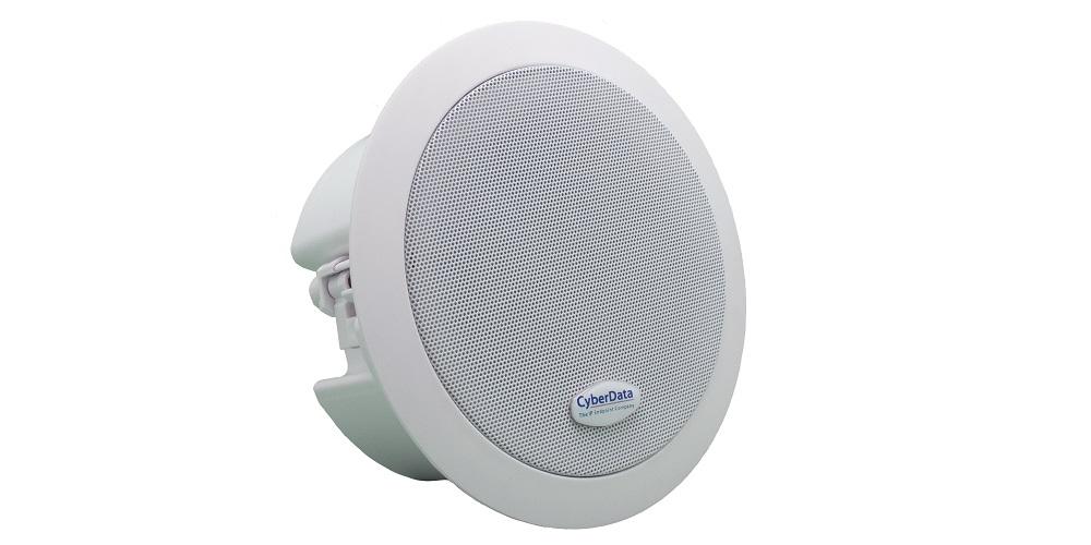 CyberData InformaCast Enabled ceiling speaker