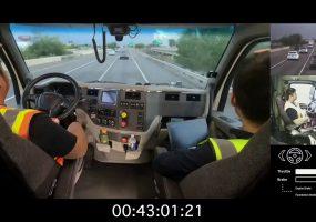 UPS self driving trucks, TuSimple