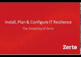 Zerto, analytics resource planning
