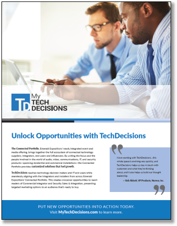 MyTechDecisions 2019 Media Kit Cover
