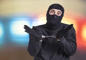 office security cameras, criminal fails