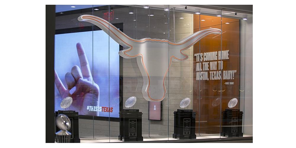 PixelFLEX Video Wall, University of Texas Athletics