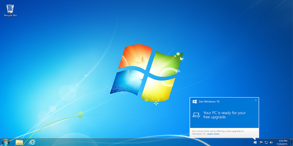 Windows 7 devices, updates