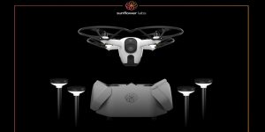 Sunflower Labs, security drone, Sunflower Home Awareness System