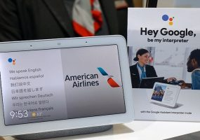 Google Assistant American Airlines