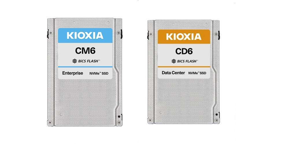 KIOXIA, U.3 Solid State Drives