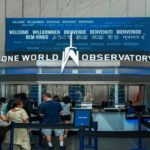 LED video walls, One World Observatory,