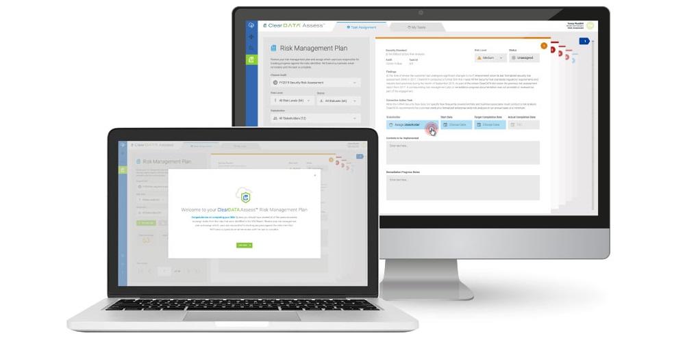 ClearDATA Assess, Security Risk Assessment Process