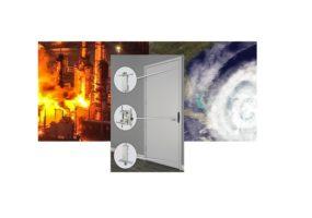 ASSA ABLOY hurricane resistant door