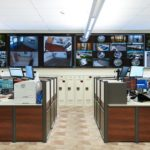 call center video wall, Planar TVF