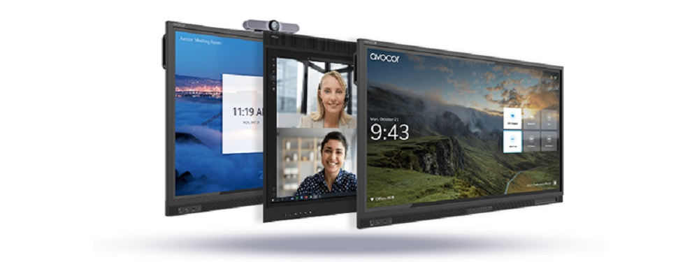 Avocor 55-inch collaboration displays