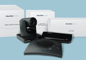 clearone aura home office technology