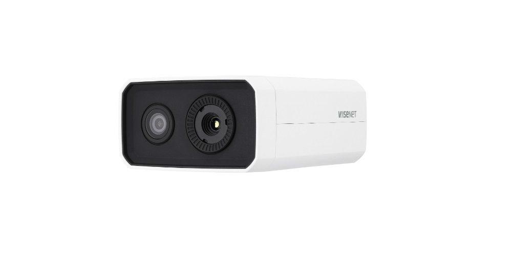 Hanwha Techwin body temperature detection camera