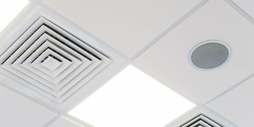Replacing office building speakers and office ceiling speakers