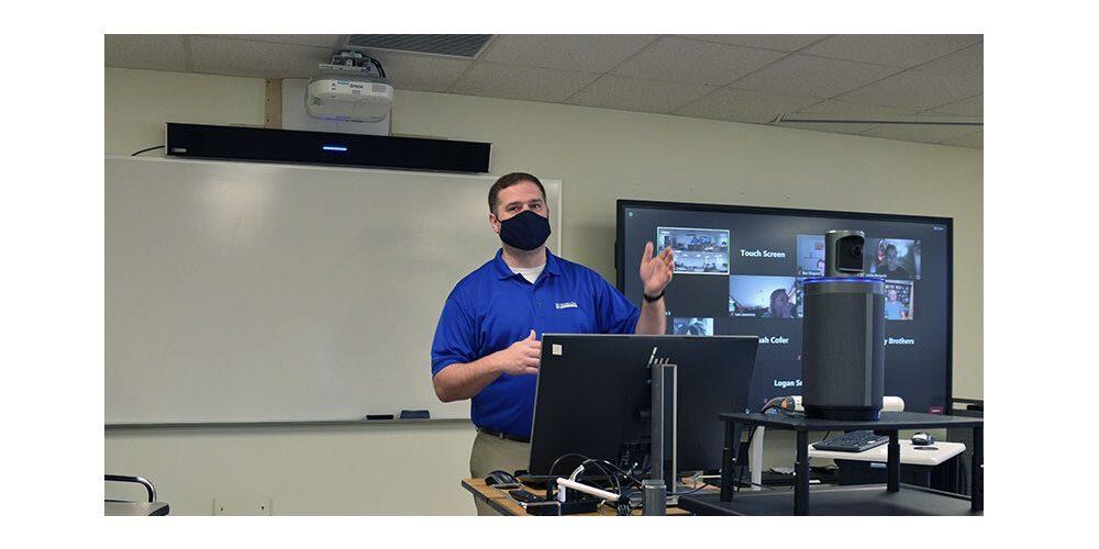 Nureva classroom audio system