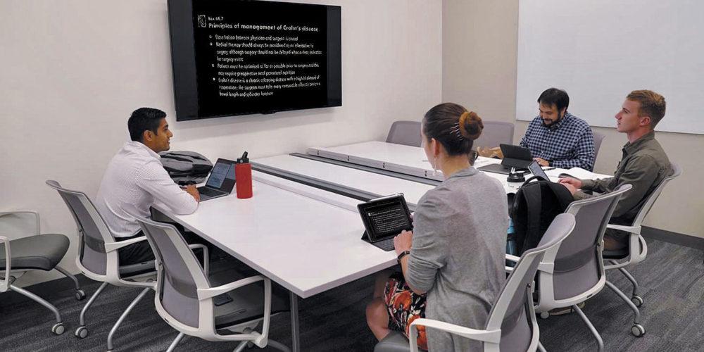 ICOM Medical School Expansive Technology Upgrade, slide 1