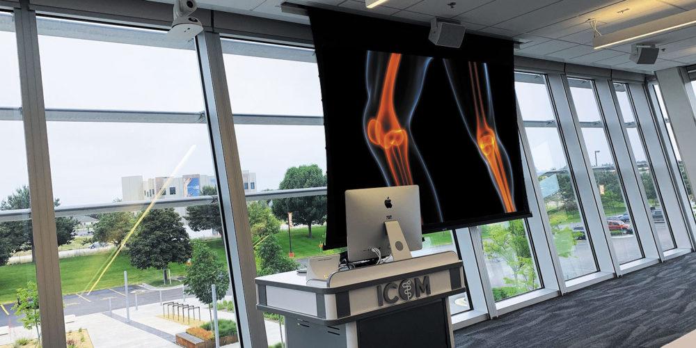 ICOM Medical School Expansive Technology Upgrade, slide 2