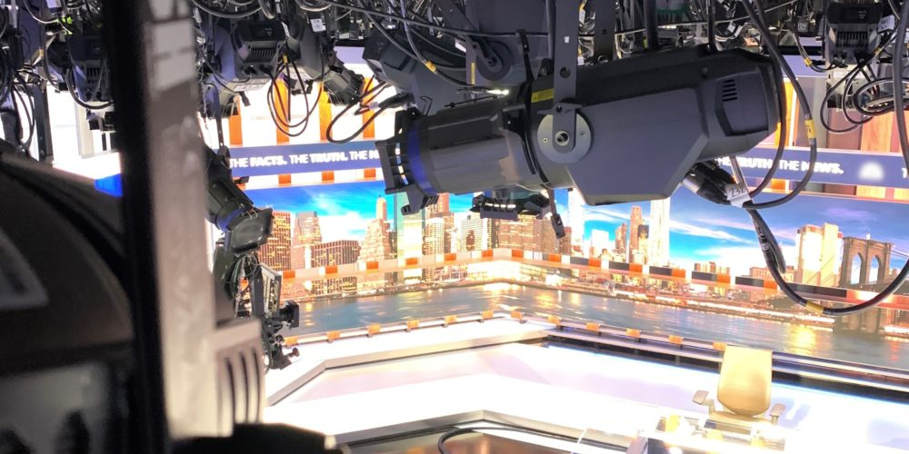 CNBC The News With Shepard Smith LED Lighting, slide 0
