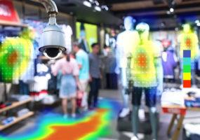 Heatmap Analytic in smart fashion retail shop technology